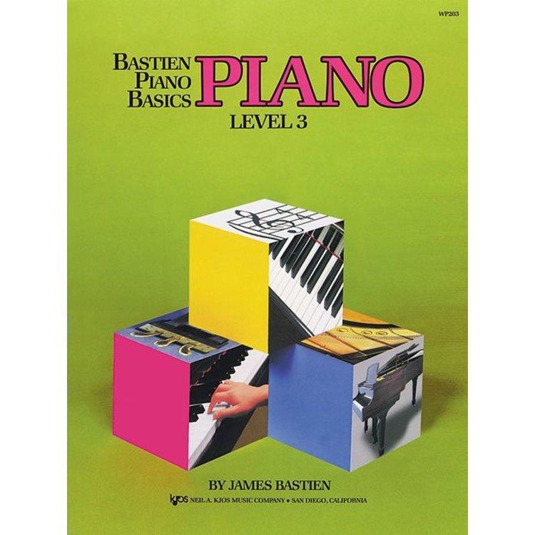 Harris Teller Bastien Piano Basics, Level 3, Piano