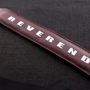 Reverend Reverend Guitars Padded Strap - Medieval Red