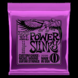 Ernie Ball Ernie Ball Power Slinky Nickel Wound Electric Guitar Strings - 11-48 Gauge