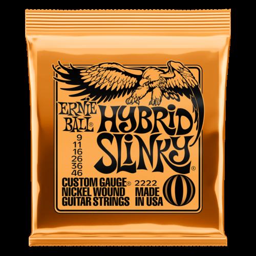 Ernie Ball Ernie Ball Hybrid Slinky Nickel Wound Electric Guitar Strings - 9-46 Gauge