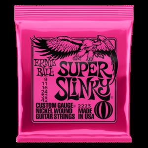 Ernie Ball Ernie Ball Super Slinky Nickel Wound Electric Guitar Strings - 9-42 Gauge