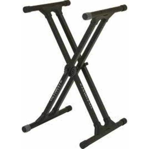 On-Stage On-Stage KS8191XX Double-X Bullet Nose Keyboard Stand with Lok-Tight Construction