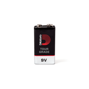 D'Addario D'Addario Tour-Grade 9V Battery, 2-Pack