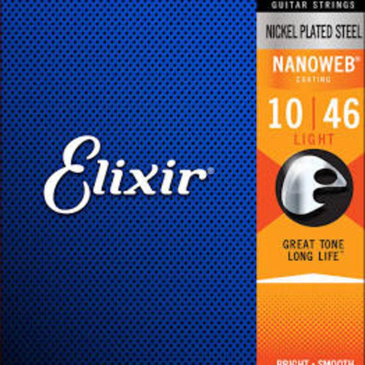 Elixir Elixir Nanoweb Electric Guitar Strings - Light 10-46