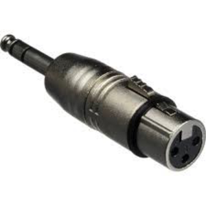 Hosa Hosa Adapter, XLR3F to 1/4in TRS