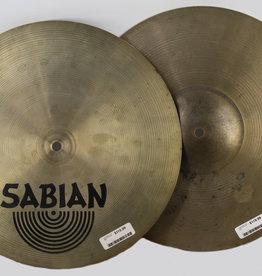 """Sabian Used Sabian AA El Sabor 14"""" Hi Hats (Pair)"""