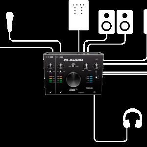 M-Audio M-Audio AIR192|8 2-In/4-Out Audio MIDI Interface