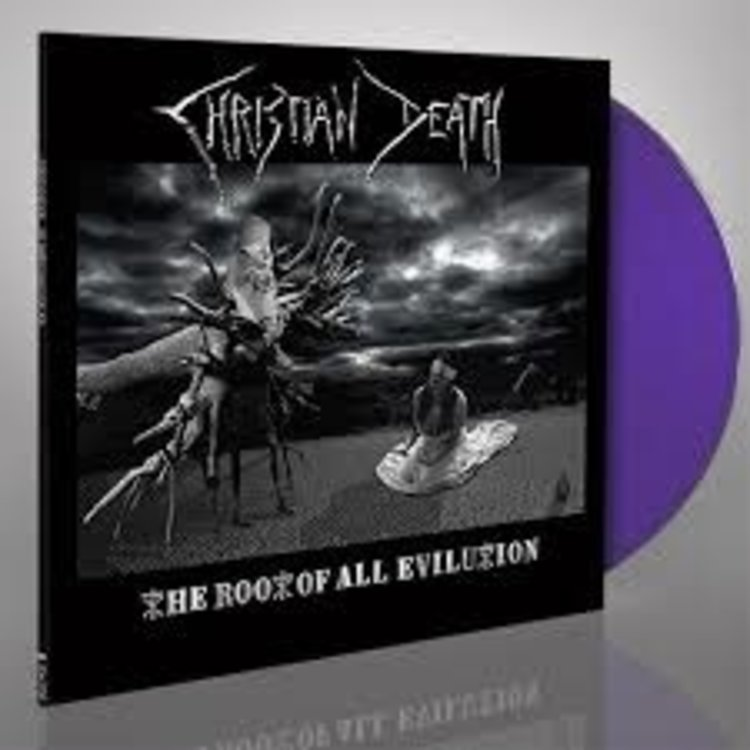 Records Christian Death / Root Of All Evilution (Limited Edition Purple Vinyl, Limited To 300 Copies Worldwide)