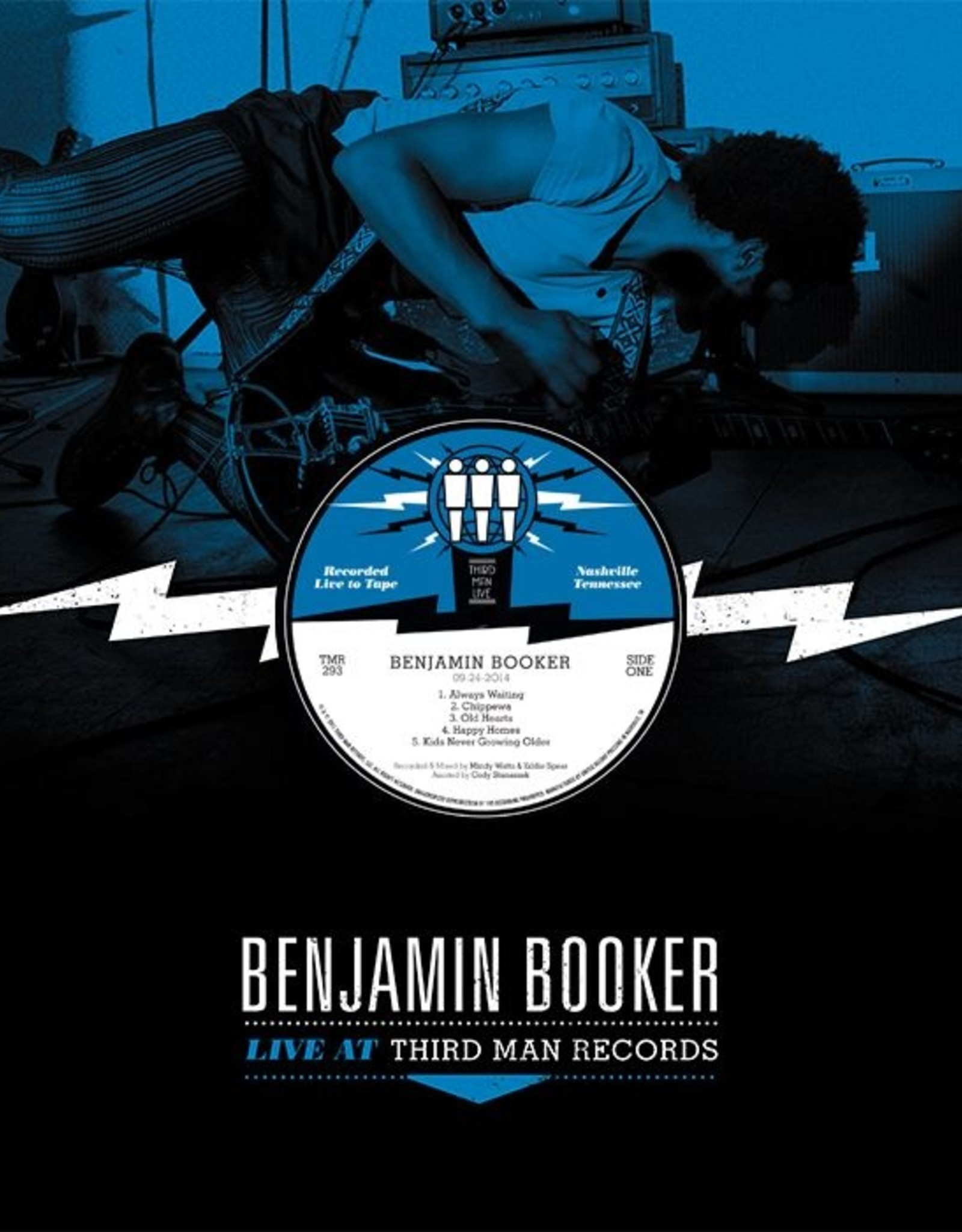 Records Benjamin Booker / Live at Third Man Records (12'' Vinyl)