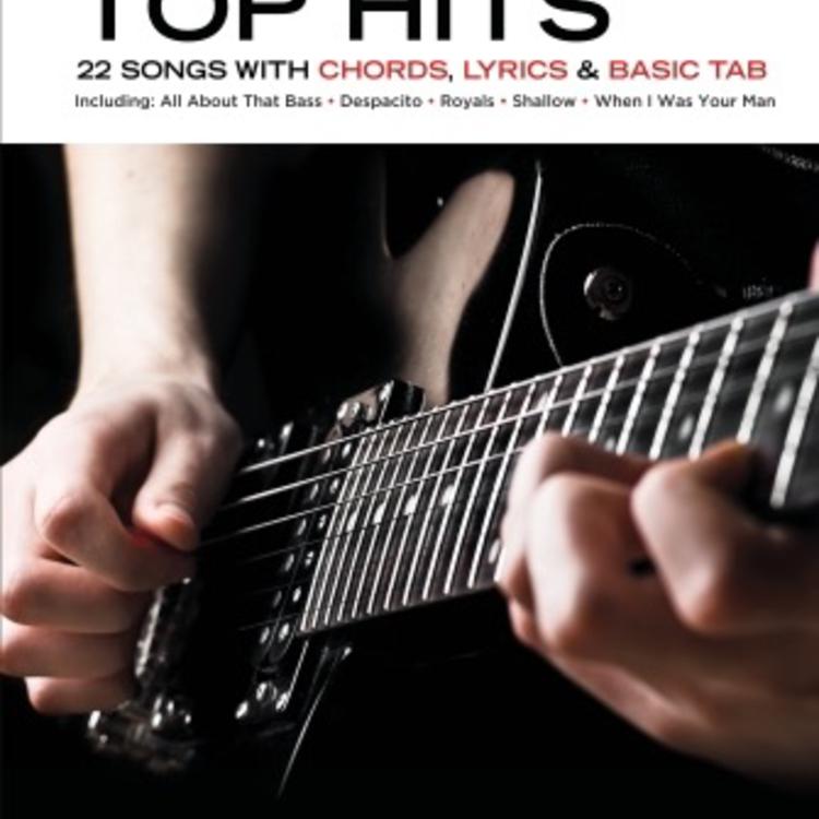 Hal Leonard Really Easy Guitar: Top Hits