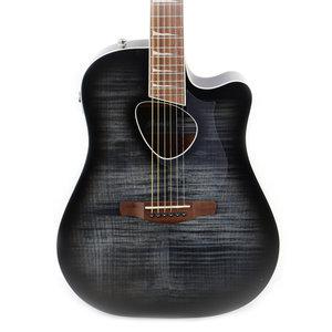 Ibanez Ibanez ALT30FMTKS Altstar Ac/Elec Guitar in Trans Black Sunburst High Gloss