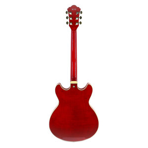 Ibanez Ibanez AS93FMTCD AS Artcore Expressionist 6str Electric Guitar - Transparent Cherry Red