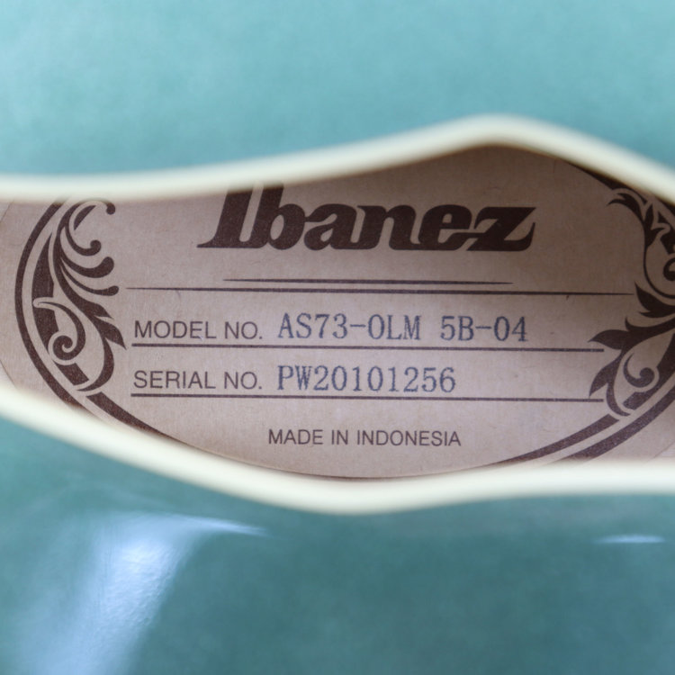 Ibanez Ibanez AS73OLM AS Artcore 6str Electric Guitar - Olive Metallic