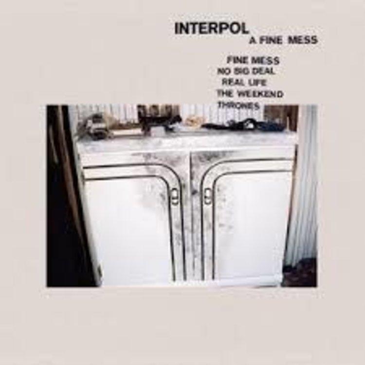 Interpol / A Fine Mess (12'')