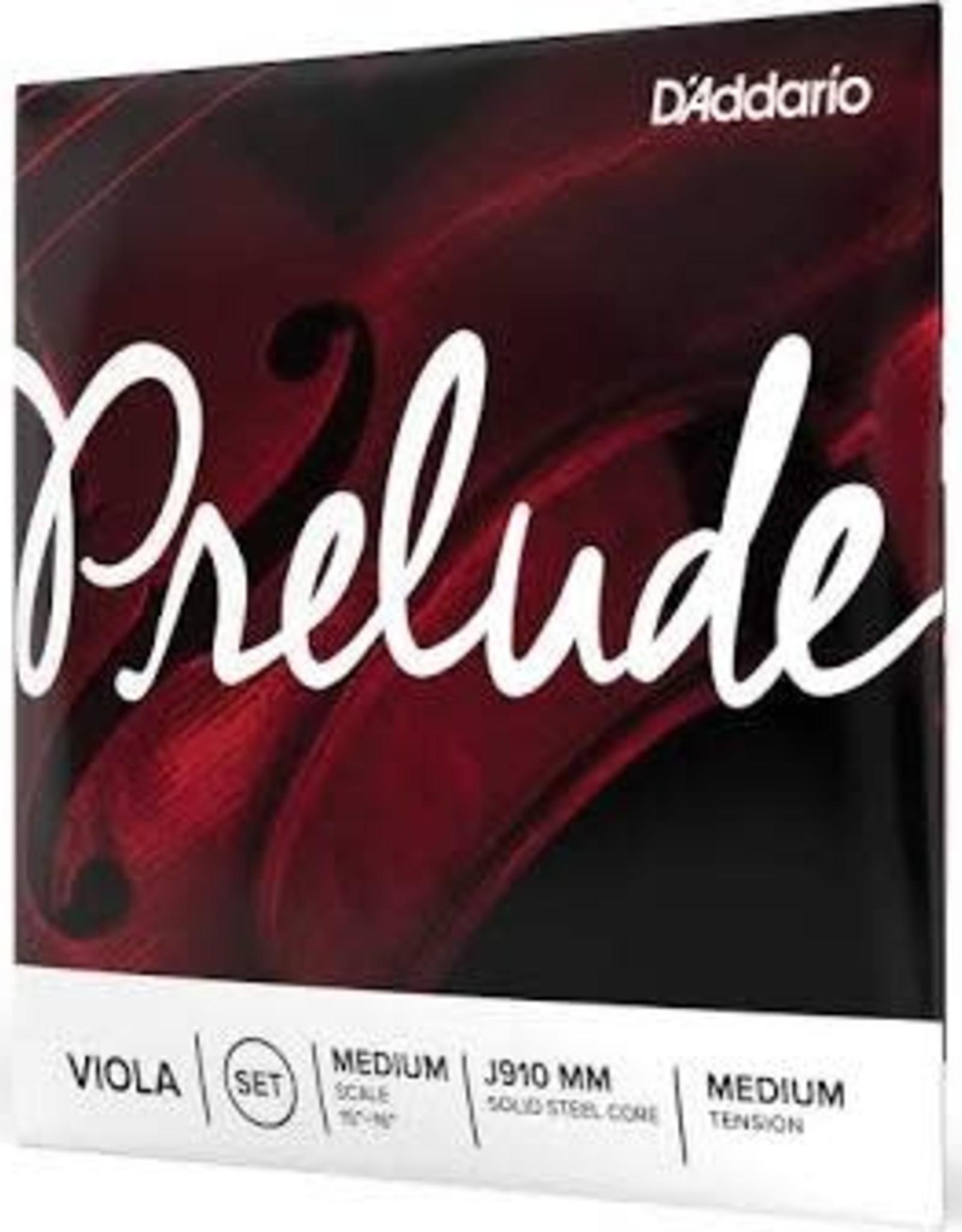 D'Addario D'Addario Prelude Viola String Set, Medium Scale, Medium Tension