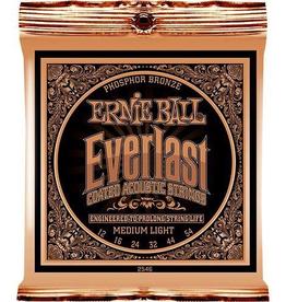 Ernie Ball Ernie Ball Everlast Medium Light Coated Phosphor Bronze Acoustic Guitar Strings - 12-54 Gauge