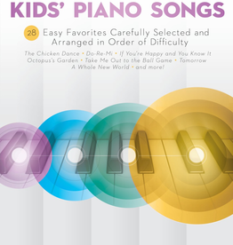Hal Leonard Hal Leonard: Sequential Kids' Piano Songs - 24 Easy Favorites Carefully Selected and Arranged in Order of Difficulty