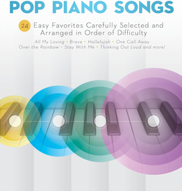 Hal Leonard Hal Leonard: Sequential Pop Piano Songs - 24 Easy Favorites Carefully Selected and Arranged in Order of Difficulty