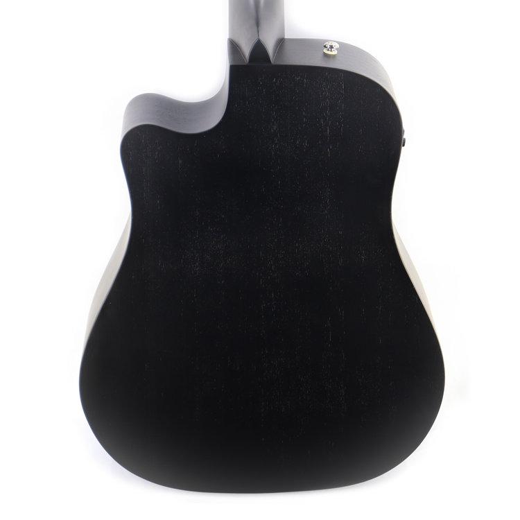 Ibanez Ibanez ALT20WK Altstar Acoustic Electric Guitar in Weathered Black