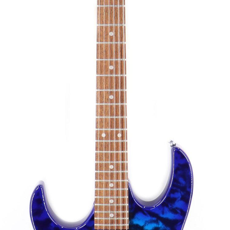 Ibanez Ibanez GRX70QALTBB GIO RX 6str Electric Guitar - Left Handed - Transparent Blue Burst
