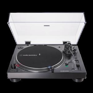Audio-Technica Audio-Technica AT-LP120XUSB-BK Fully manual 3-speed direct drive USB/analog turntable system, black