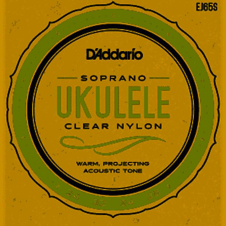 D'Addario D'Addario EJ65S Soprano, Pro-Arté Custom Extruded Nylon