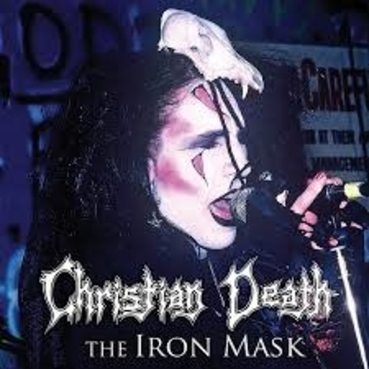 Records Christian Death / Iron Mask [Special Limited Edition Colored Vinyl]
