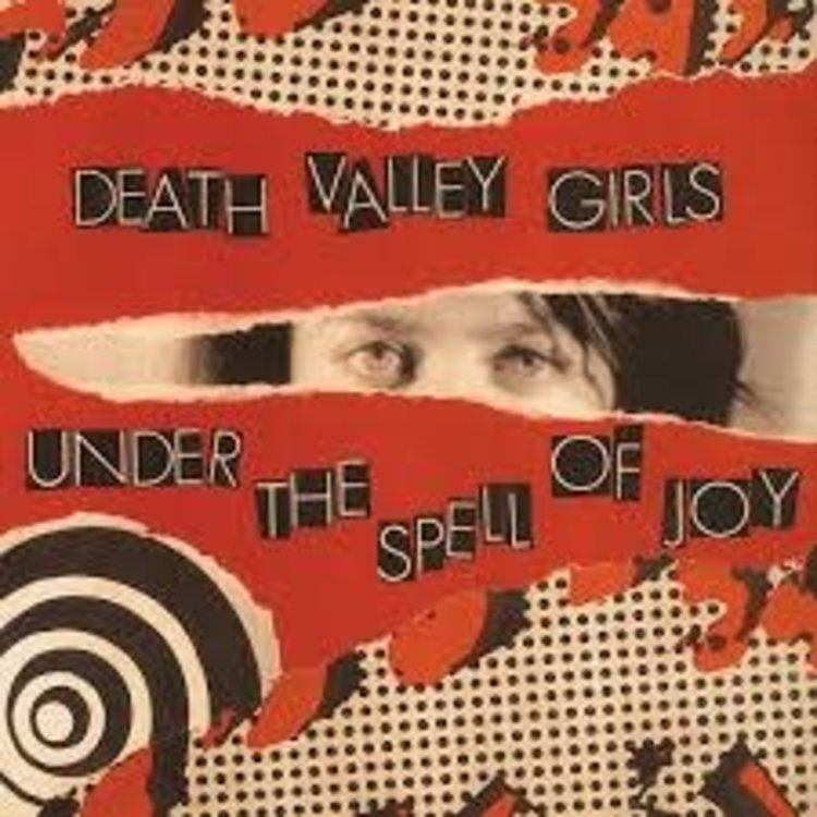 Records Death Valley Girls / Under the Spell of Joy (Half Bone/Half Reddish Vinyl)