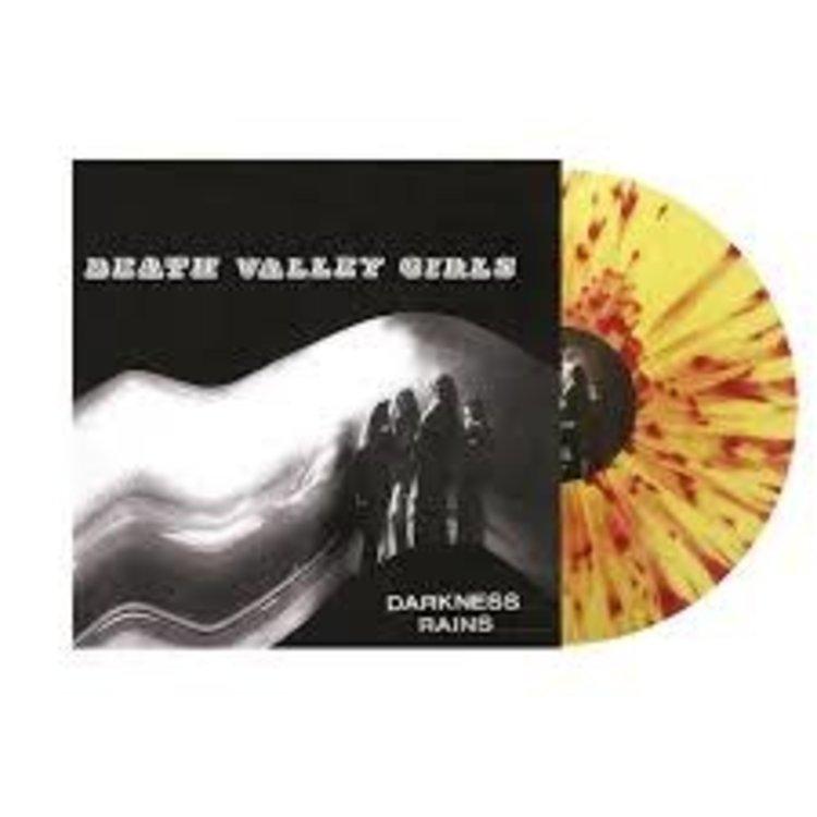 Records Death Valley Girls / Darkness Rains (Yellow w/ Red Splatter Vinyl)