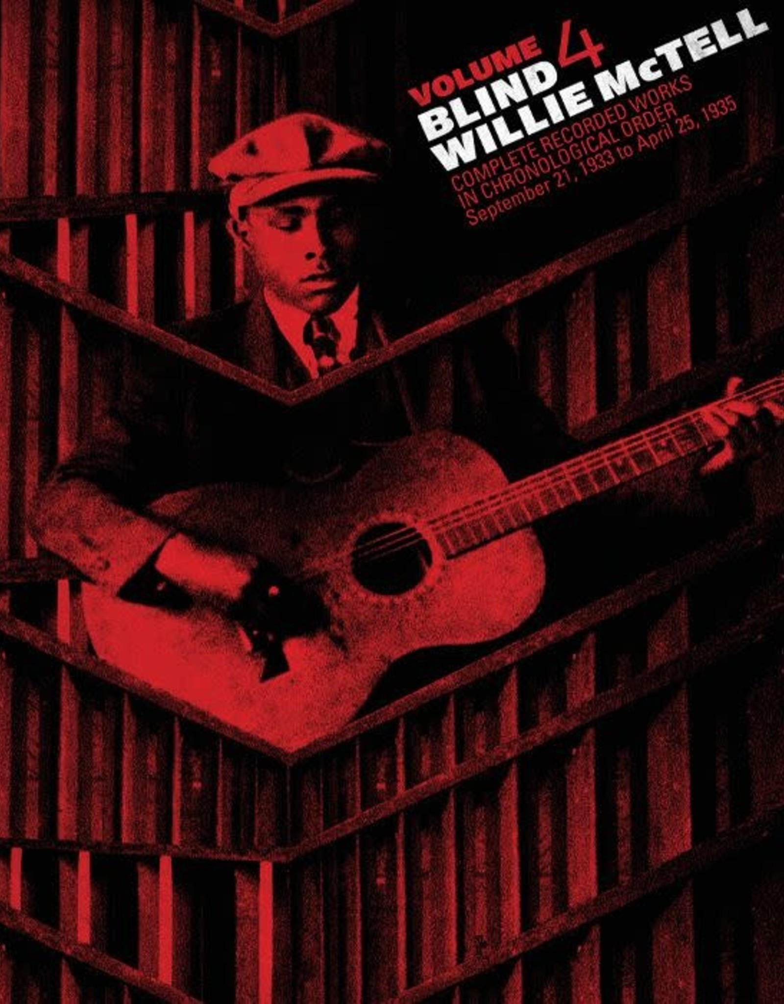 "Records BLIND WILLIE MCTELL - The Complete Recorded Works in Chronological Order Volume 4 (12"" VINYL)"