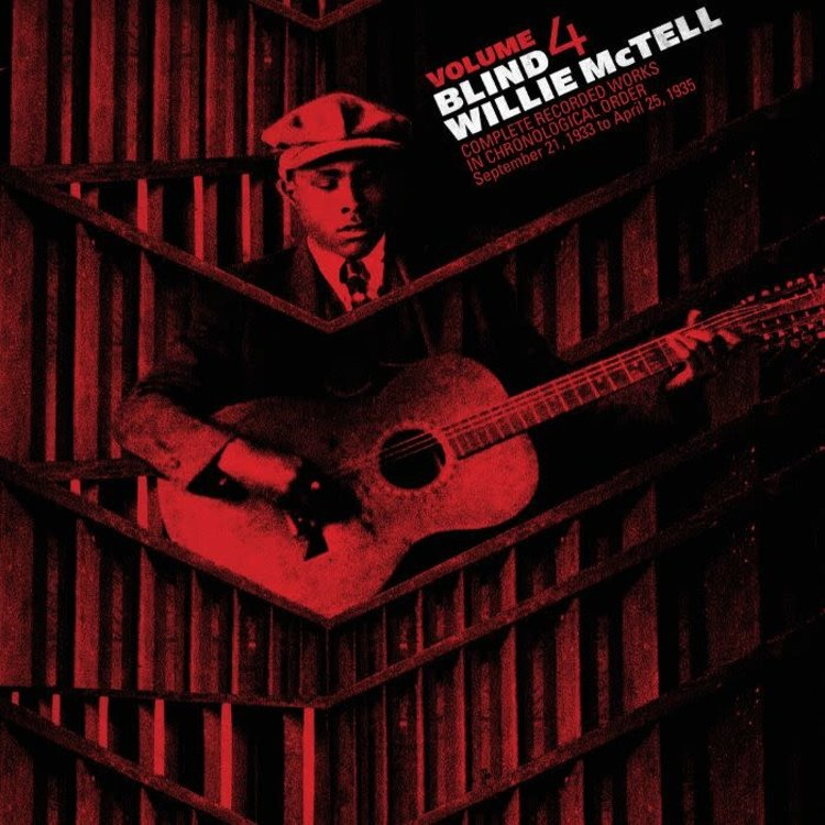 """Records BLIND WILLIE MCTELL - The Complete Recorded Works in Chronological Order Volume 4 (12"""" VINYL)"""