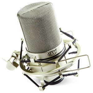 MXL MXL 990 Large Diaphragm Condenser Microphone w/Shock Mount & Case