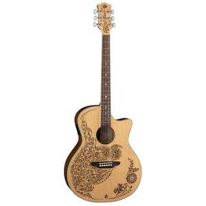 Luna Guitars Luna Henna Oasis A/E Spruce