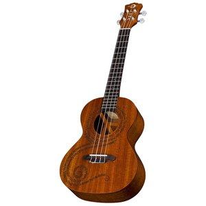Luna Guitars Luna Uke MALUHIA Peace Tenor w/Gigbag