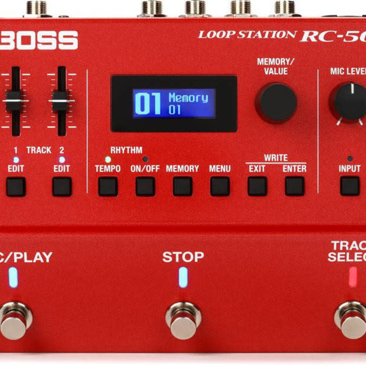 Boss BOSS RC-500 Loop Station Compact Phrase Recorder Pedal