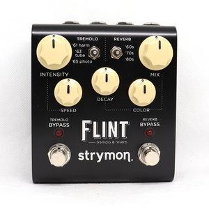 Strymon Strymon Flint Tremolo & Reverb [White Knobs] - Tremolo and reverb effect pedal