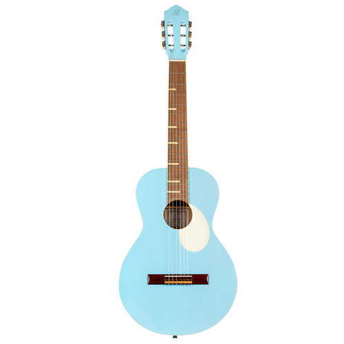 Ortega Ortega Gaucho Series Nylon String Guitar w/Gig Bag - Sky Blue