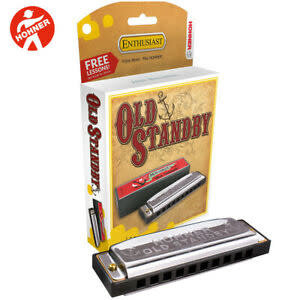 Hohner Hohner Old StandBy Harmonica - G