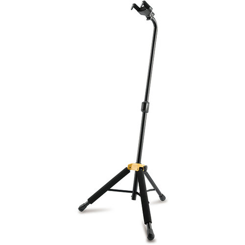 Hercules Hercules PLUS Series Universal AutoGrip Guitar Stand with Specially Formulated Foam Rubber on Legs