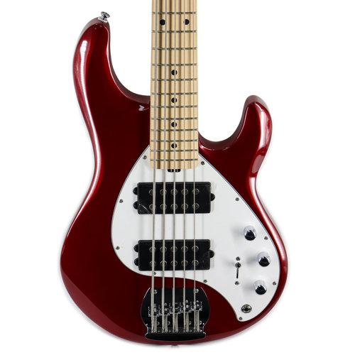 Sterling by Music Man Sterling by Music Man StingRay5 HH in Candy Apple Red