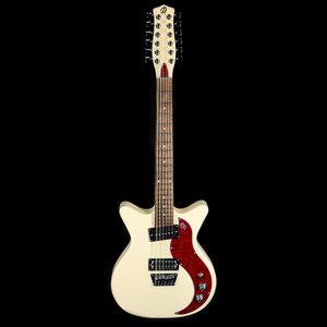 Danelectro Danelectro '59X 12-String - Cream w/ Red Pearl Pickguard