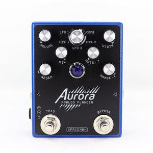 Spaceman Effects Spaceman Aurora Multi-Mode Analog Flanger - Standard Blue