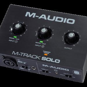 M-Audio M-Audio M-Track Solo II - 2-In 2-Out USB Audio Io w/1 Mic Pre