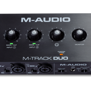 M-Audio M-Audio M-Track Duo 2-In/2-Out USB Audio Interface