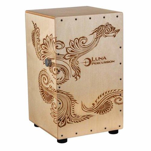 Luna Percussion Luna Henna Dragon Cajon with Bag