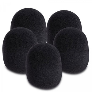 On-Stage Gear On-Stage Black Windscreen (5-Pack)