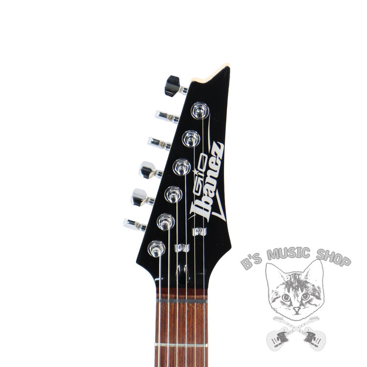 Ibanez Ibanez GRX70QATEB GIO RX 6str Electric Guitar - Transparent Emerald Burst