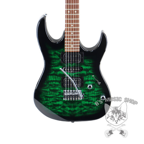 Ibanez Ibanez GIO RX70QATEB 6str Electric Guitar - Transparent Emerald Burst