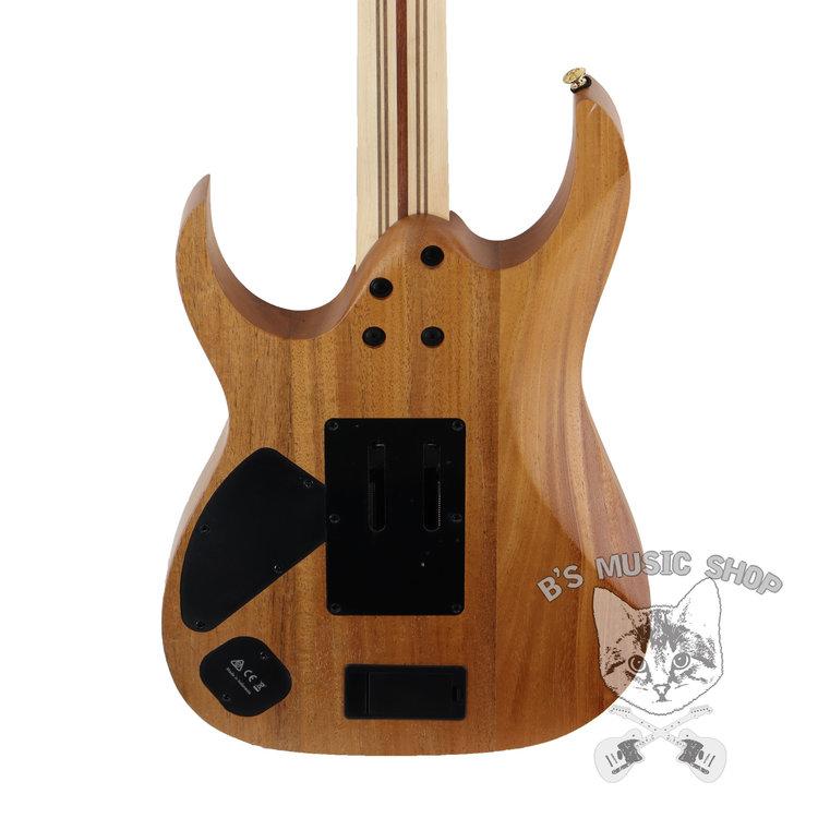 Ibanez Ibanez RG6PKAGNTF RG Premium 6str Electric Guitar w/Case - Natural Flat