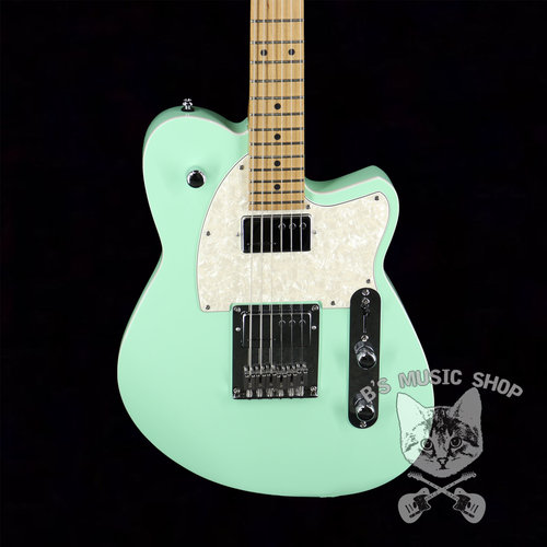 Reverend Reverend Cross Cut in Oceanside Green